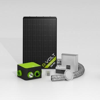 Panneaux Aérovoltaïque